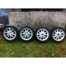 Jaguar - 4 'Celtic' Wheels & Tyres 17""