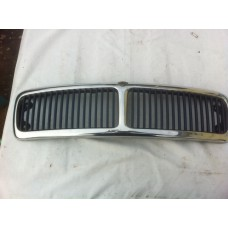 Jaguar X300 - Front Grill - Chrome Surround with Blue Inserts