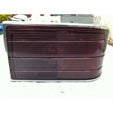 Jaguar Daimler XJ40 XJ6 XJ12 - O/S Rear Light Lens with Chrome Surround DBC3390