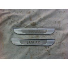 Jaguar S Type - Rear Door Kick Plates Trim
