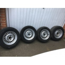 Jaguar - 4 'Tear Drop' Wheels & Tyres 15""