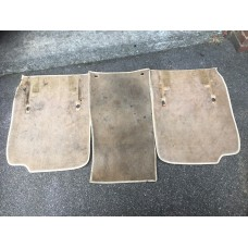 Jaguar Daimler XJ40 XJ6 XJ12 Set of 3 Carpet Mats - Magnolia
