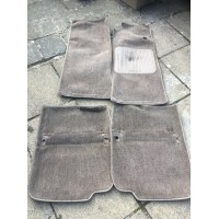 Jaguar XJ40 XJ6 Set of 4 Carpet Mats - Light brown