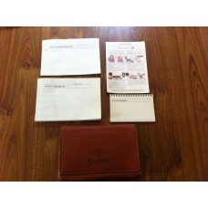 Jaguar S Type - Owners Manual Pack for 2002